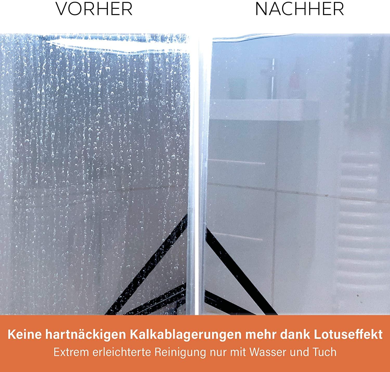 Glasversiegelung_Dusche_Testsieger_direktvergleich_Cleanglas_kalk_entfernen